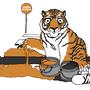 Tiger Crossing by MiddleFingerRings