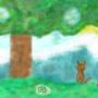 Cat landscape
