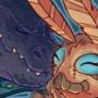 Birthday Commission: Godzilla X Mothra