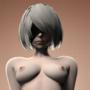 [SFM] 2B Nier Automata (Nude)