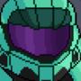 Pixel Halo Helmet Thing