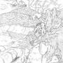 Nekoutsu vs. chaos dragon by Ramatsu