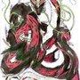 The Black n Red Mystic Dragon