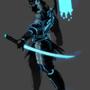 Tron Samurai by SuperKusoKao