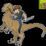 Raptor rider by Peglay