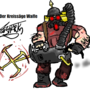 Der Kreissage Waffe