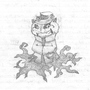 Cat Wizard by Junctafunkis