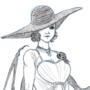 Lady Dumitrescu Doodle