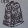 School Art: William Kentridge ink and textured paper