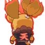 Isabelle equips: Street Fighter spirit!