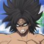 Dragon Ball Super Broly Fan Art (Topless)