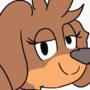 Dog girl animation