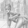 Batwoman and Catwoman