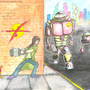 robot fight by shaheen92