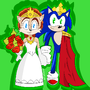 King sonic and queen sally by Overturn900NG