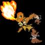 Yoga Flame by maniac086