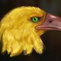 Phoenix Head by Roboface3001