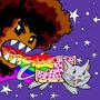 Nyan Nyan Nyom Nom Nom Nom by BiggCaZv2
