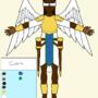 Angel OC(Front View) / Personaje de ángel(vista frontal) / 天使(正面図)