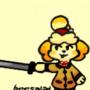 Sketch - Isabelle but funny sword