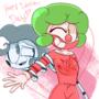 Clown Valentines Day