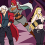 DMC in the Style of High School DxD