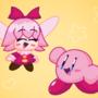 Kirby and Ribbon! 💖
