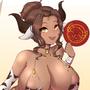 Lunar New Years Tora bikini alt