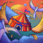 circus is the sky card game comission