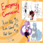 Emergency comm sheet