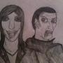 Vampires Sketch by JackDCurleo