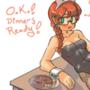 Dinnertime Bunny