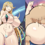 Mythra 2-Panel Comic (textless)