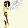 Angel OC(Side View) / Personaje de ángel(vista lateral) / 天使(サイドビュー)