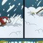 Donny hates snow