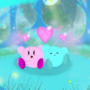 Kirby (Pink - Me Blue - My Bf)