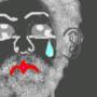 Unabomber cries kawaii teardrop