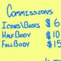 COMMISSIONS (AGAIN)