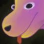 Hourglass doggo