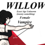 Character Sheet: Willow