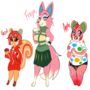 Animal Crossing girls