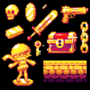 Pixel gold stuff