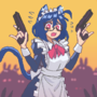 Maid Skye 2: Dust Bunny Wars