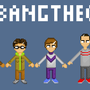 Big Bang Theory Line Up by DarkArtisan