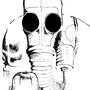 Gas Mask Greeting