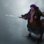 ninja grandma by voxmortemcg