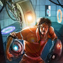 Portal 2 - Next please! by orathio89