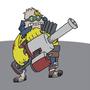 The littliest Super Mutant by AmericanRobot
