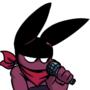 He rappin'
