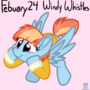 Character Daily Feburary 24 - Windy Whistles MLP